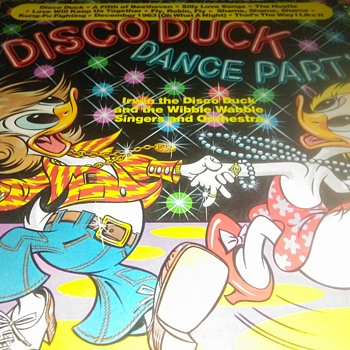 The Disco Duck...On 33 1/3 RPM Vinyl - Records