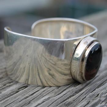 Silver Cuff Braclet  - Fine Jewelry