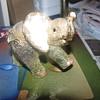 Gold elephant trinket box