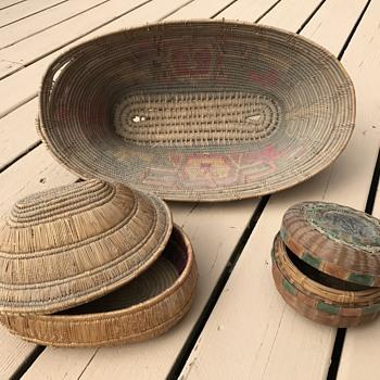 Native American baskets - I think? - Furniture