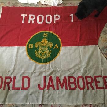 1933 world jamboree flag - Sporting Goods