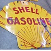 6' Shell Porcelain Gas Sign