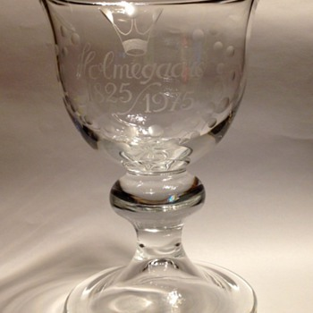 Holmegaard Anniversary Cup - Art Glass