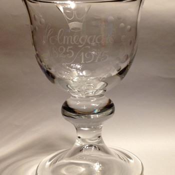 Holmegaard Anniversary Cup - Art Glass