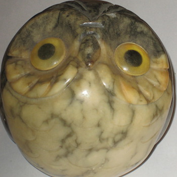 Owl Alabaster - Animals
