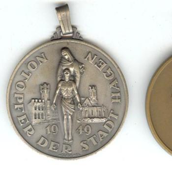 Hagen Emergency Offering Medals