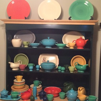 Vintage Fiesta Ware Collection - Kitchen