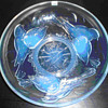 Opalescent Glass  Bowl, Signed EZAN France