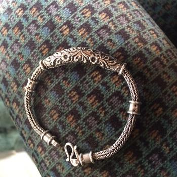 Stirling silver bracelt