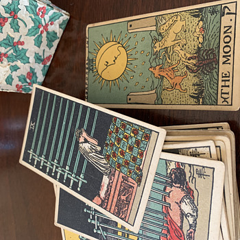 Antique Tarot Card Deck- Any info? - Cards
