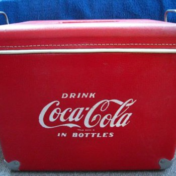 1950's Royal Mieco Coca Cola Cooler - Coca-Cola