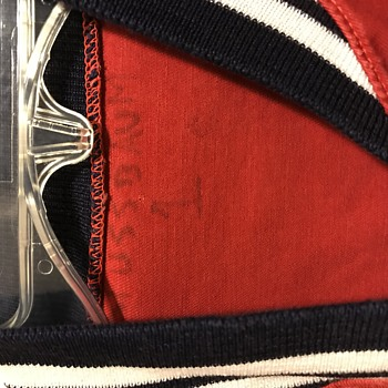 Vtg Rawlings Mr Red Varsity Jacket  - Baseball