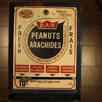 my peanut machine from montreal - Coin Operated