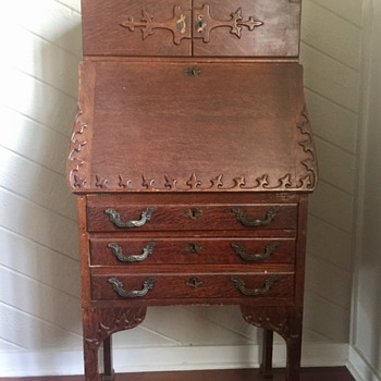 Antique Secretary Desk- need info on this family heirloom