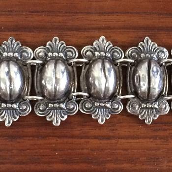 Vintage Mexico Silver Bracelets - Fine Jewelry