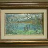 unusual impressionist oil painting, can't read signature