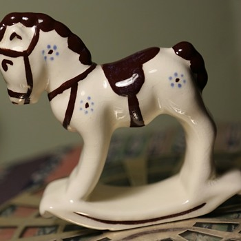 Rocking Horse - Pottery