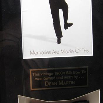 Dean Martin . . . Silk Bow Tie