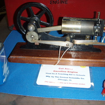 Cut-Away Gasoline Engine Teaching Aid - Tools and Hardware