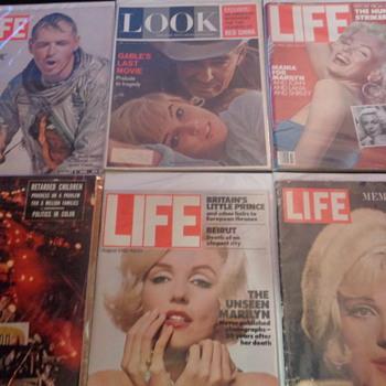 Marilyn Monroe Life Magazines - Paper