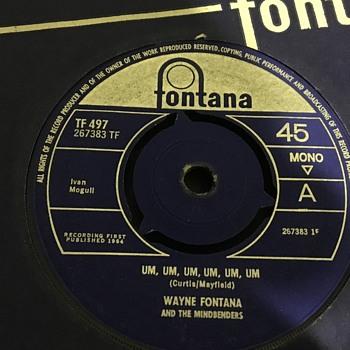 60s vinyl records  - Records