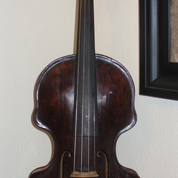 Really Old Violin - Musical Instruments