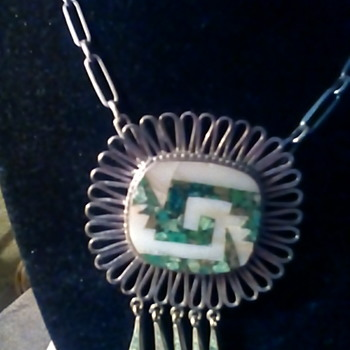 Sterling Mexico marked necklace