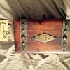 Cedar & brass box ?