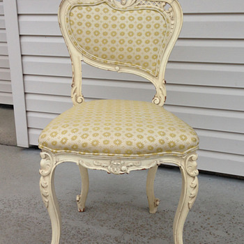 Victorian French Vanity Chair? - Furniture