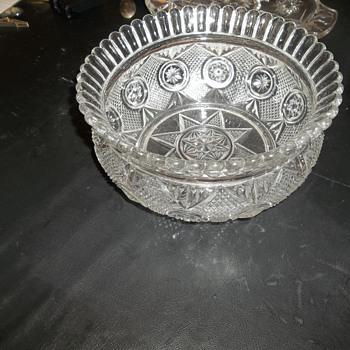 Crystal (glass)bowl