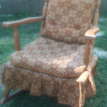 rocking chair from the 60's - Furniture