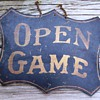 Vintage Billiards Sign