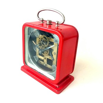 PETER brand vintage mechanical table clock - Clocks