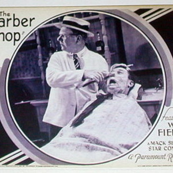 1933 Movie WC Fields-THE BARBERSHOP 16mm reel to reel in original canister