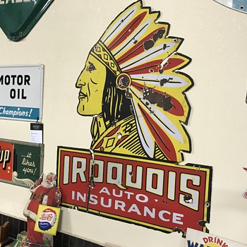Iroquois auto insurance sign  - Signs