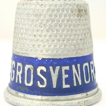 New Australian advertising thimble - Sewing