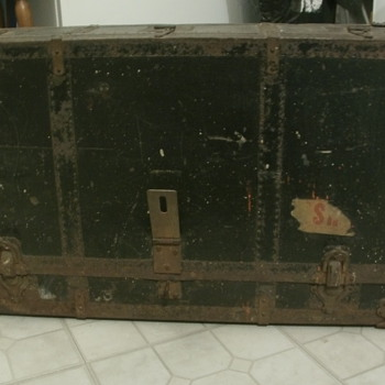 Trunk Toolchest... Maybe a Christmas present from the Budd Company - Tools and Hardware