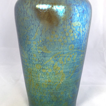 "Loetz ""Delphi"" Vase with unusual DEK pattern. PN II-878. 7"" Tall. Circa 1900 - Art Glass"