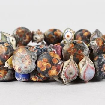 Ancient roman eye beads - Fine Jewelry