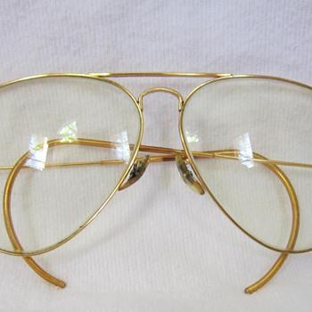 Vintage B & L Ray-ban USA frames, Ambermatic?