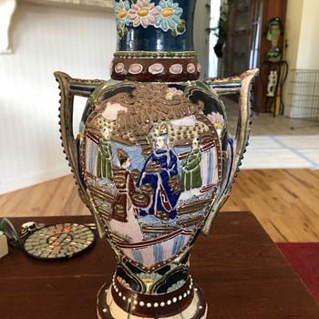 Old Asian vase - Asian
