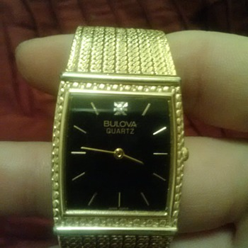 Bulova wristwatch given to me years ago