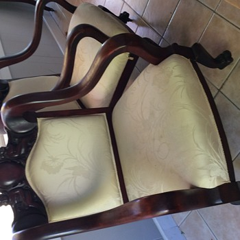 Circa 1910 American armchair