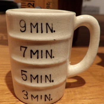 3,5,7,9 Min. measuring cup?? for medicine???