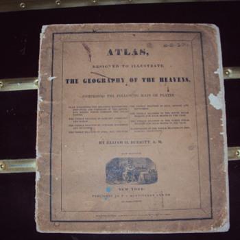 1835 Atlas, The Geography Of The Heavens by Elijah H. Burritt, A. M.