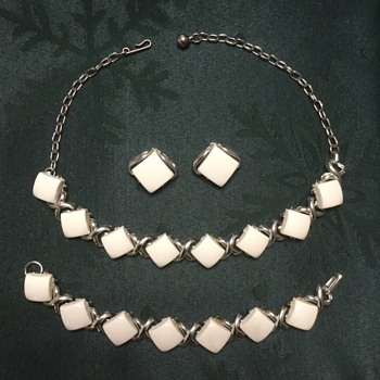 White Lucite for Summer — Coro Jewelry - Costume Jewelry