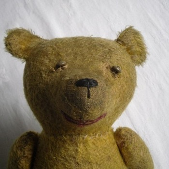 Any idea who made my old bear?