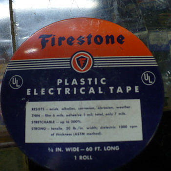 Firestone electrical tape can