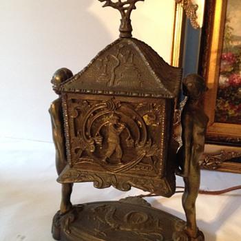 Art Deco Lamp - Asian