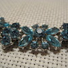 Crown TRIFARI Pale Blue Rhinestone Bracelet
